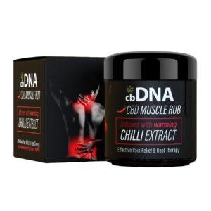 CBD chilli muscle rub