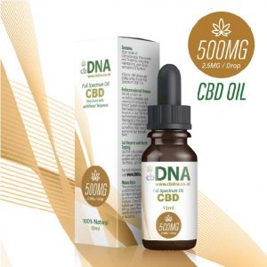 cbDNA 500MG CBD Oil