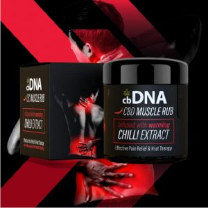 cbDNA Chilli Rub CBD
