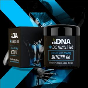 cbDNA Menthol Rub CBD