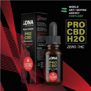 cbDNA PRO CBD 500mg Water Soluble
