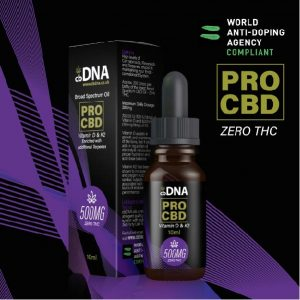 cbDNA PRO CBD Oil Vitamin D